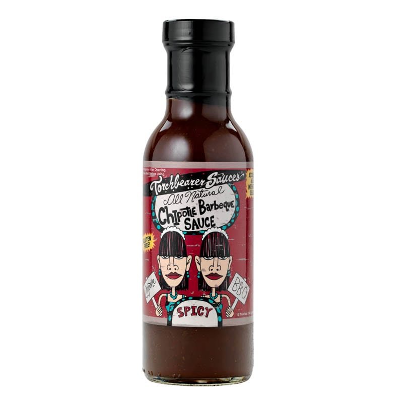Chipotle Barbeque Sauce Case by Torchbearer Sauces