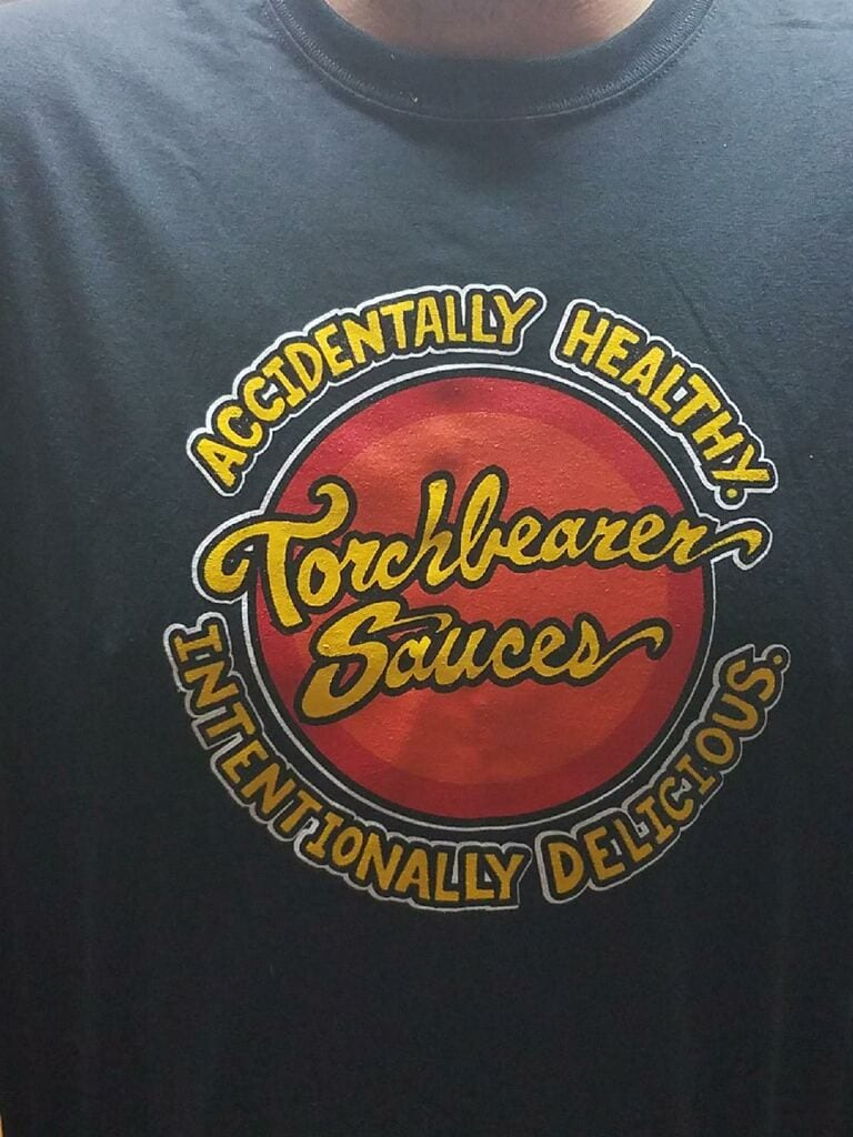 Torchbearer Sauces T-shirt