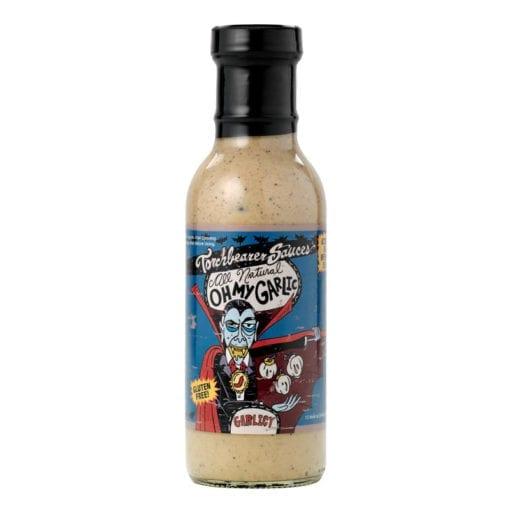 Oh My Garlic Sauce Bottle