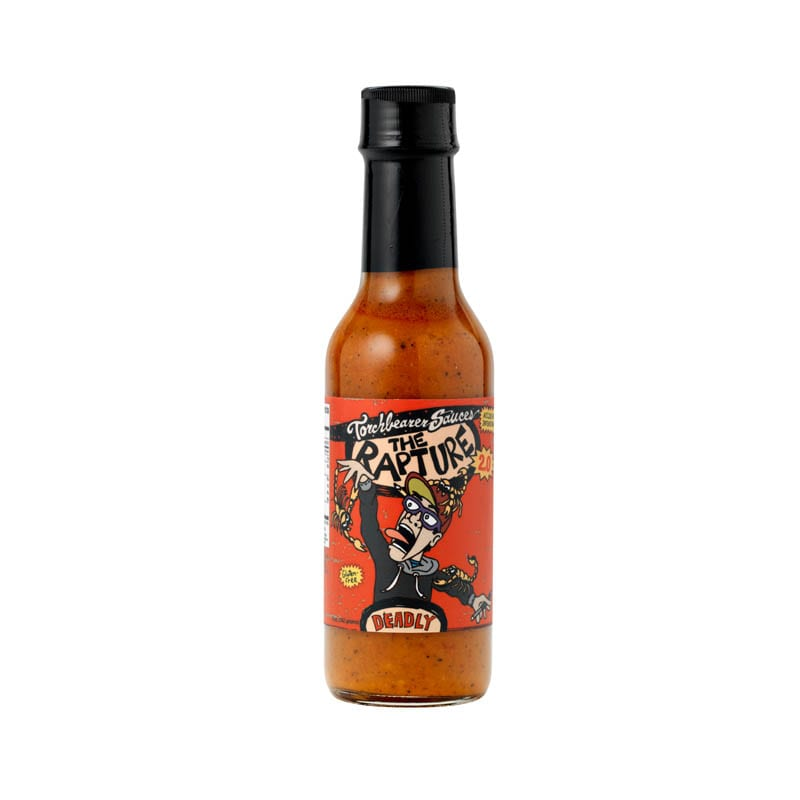 Trinidad Scorpion Pepper Sauce | The Rapture 2.0 Case of 12 (5 oz bottles)