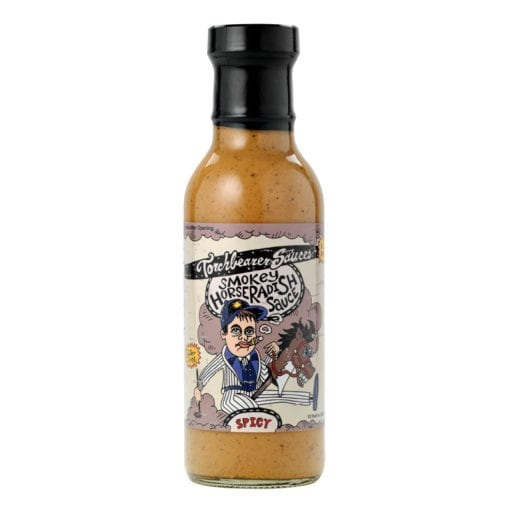Smokey Horseradish Bottle by Torchbearer Sauces