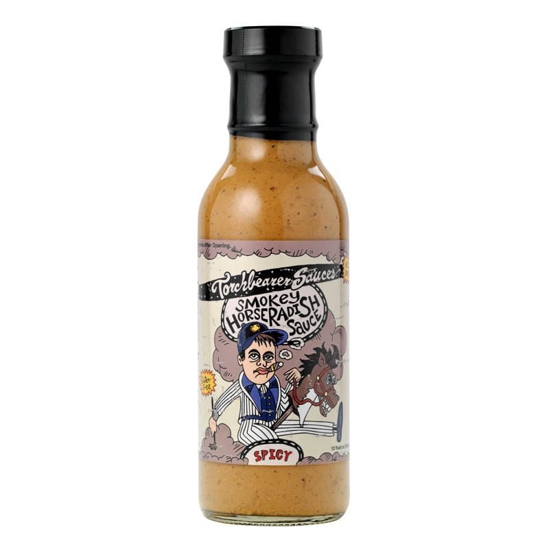 Smokey Horseradish Bottle by Torchbearer Sauces